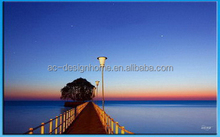 Landscape picture canvas picture for home decoration