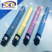 Ricoh color toner cartridge RC2503, compatible for Ricoh Aficio MP C2003SP /2503, OEM code: CR841918/19/20/21 machine