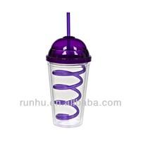 big lidded cups drink plastic seal