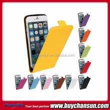 New product leather cover for apple iphone 6 Flip leather case