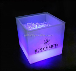 Hot Sale Led Ice Bucket Party Cooler /belvedere vodka acrylic ice bucket cooler