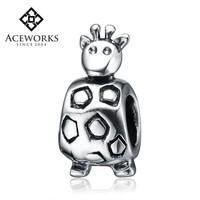 New Arrival Lovely Deer Shaped 925 Sterling Silver Bracelet Beads European Charms for Bracelet