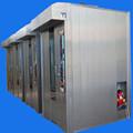 alta qualidade e bom efeito do cozimento diesel um carrinho rotary rack forno de padaria