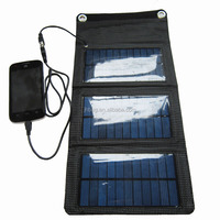 5W factory directly supply portable solar panel charger bag