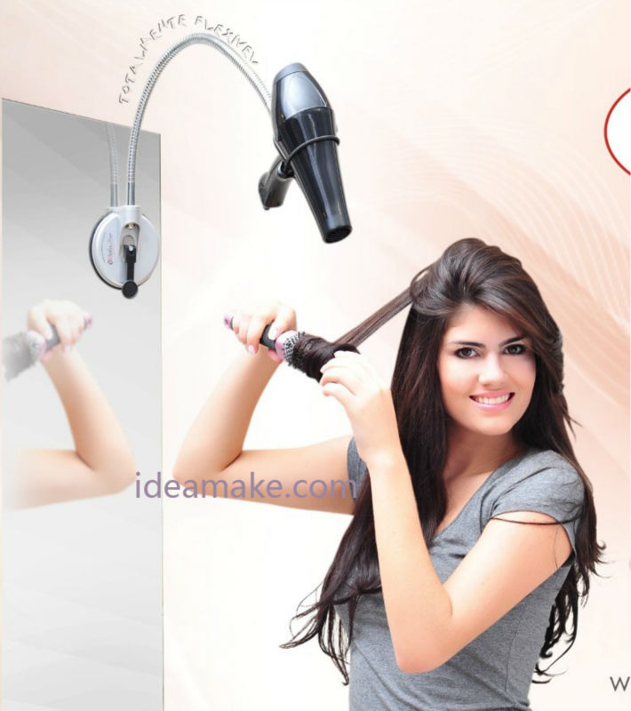 blow and go hair dryer holder