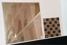 High Heat Insulation Colorful Coated Glass/Reflective Glass Decorative Mirrors