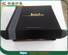2015 Wholesale custom printed corrugated cardboard matt black shipping boxes