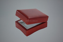 Hot sale solid wood engaging ring box