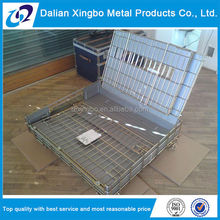 china goods wholesale collapsible pallet wire basket