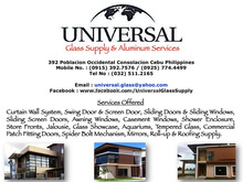 Universal Glass Supply & Aluminum Services