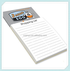 Magnetic shoppinglist Magnet writing pad,fridge magnet notepad