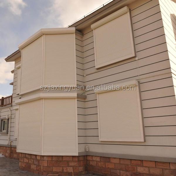 European electric aluminum security window shutters buy - Electric window shutters interior ...