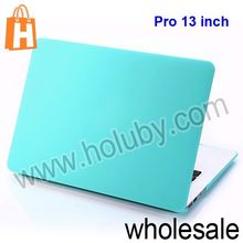 Solid Candy Color Ultra Thin Folio Plastic Hard Laptop Case for Apple Macbook Pro 13 inch