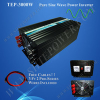 DC to AC pure sine wave solar power inverter 3000w with 12v/24v/48v dc