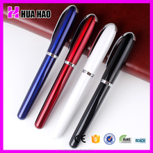 2015 school supplies wholesale roller ball pen with free ink advertising office supplys metal roller pen