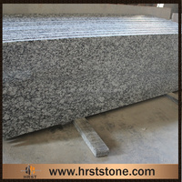 granite countertop Spray wave white granite