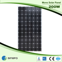 High Efficient 200W 72 Cell Solar Photovoltaic Module