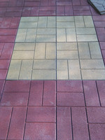 Brick Top rubber paver