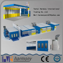 China Shandong High Quality and CE Certified High Quality Electric Heating Spray Booth for car