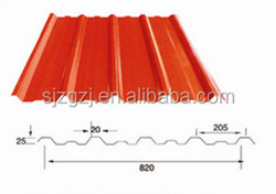 building materials Pre-painted galvanized sheet metal roofing