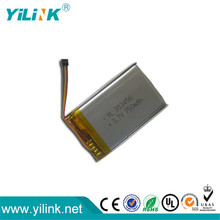 Rechargeable 3.7V 750mah lithium ion battery pack for electric toys