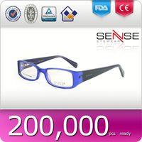 mens fashion eyeglasses pinhole glasses with custom logo fashionable