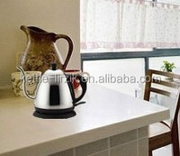 Cordless Electric tea kettle;long spout stanless steel coffee mini kettle;electric kettle can boil milk