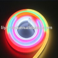LIYU,neon flex HIGH LUMEN RGB color changing rope light with IC controller, 240 LED/M,CE&ROHS, #LY-WH-IC Meteor-24V