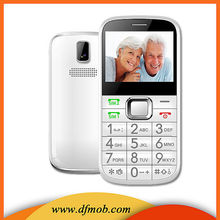 Hot Sale 2.31 INCH MTK6260A GSM Big Keyboard GPRS Quad Band SOS Cell Phone Senior H2301