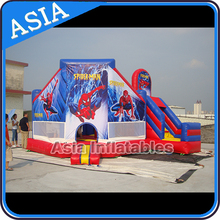CE Children Kids Inflatable Spiderman Bouncer with Slide/Inflatable Spiderman Bouncer Slide