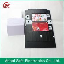 inkjet pvc card for epson l800 T50 R230 dual sided printer