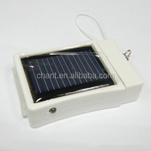 Factory price high quality fashion mini polycrystalline silicon 400mAH portable solar power charger for iphone ipod 3g/4g/3gs