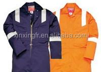 NFPA2112 & ASTM D6413 COPY INDURA 88%COTTON 12%NYLON 9OZ flame retardant workwear