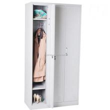 (DL-CL3) 0.7 mm Factory Wholesale Knock Down 3 Door Bedroom Wardrobe Designs/3 Door Steel Locker/Knock Down Steel Locker