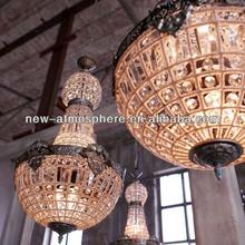 Lámparas de turco/antiguos colgante luz/colgantes de cristal para lámparas de araña/prisma de cristal