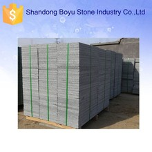 Indoor China sesame grey granite slab / plate