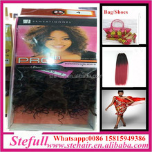 Stefull hair good quality no tangle japanese fiber havana mambo twist hair