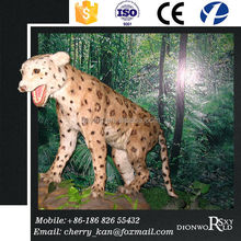 Theme exhibition vivid animatronic Leopard model