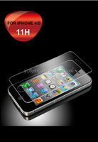 0.33mm screen protector high quality for tempered glass screen protector film for iphone 4