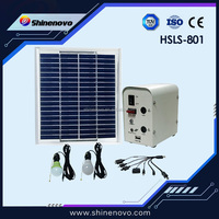 Output 5W 12V solar home lighting system made in China