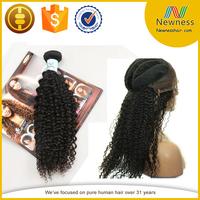 wholesale indian virgin vagina hair ponytail hair indian hair tie