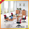 cheap office workstation partition new 4 seat office desk