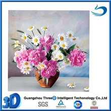 Stock beautiful flower high resolution 3d lenticular picture