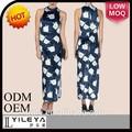 السيدات ارتداء الملابس مكتب التصاميم الحرير الزهور اللباس التقليدي الصيني