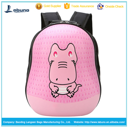 factory wholesale ABS+PC hard shell backpack bag for kids
