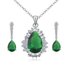 New arrival high quality AAA cubic zirconia nigerian wedding jewelry set