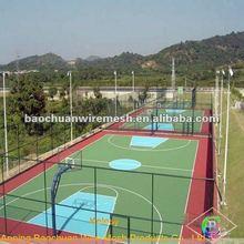 Zinc coated basketball net