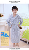 Hot fashion for 2015 fancy items for kids 100% cotton velour bathrobes