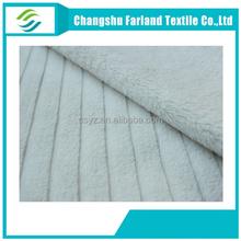 white coral fleece fabric for bathrobe