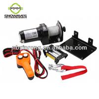 1500lbs 12V 24v winch DC Motor Electric Winch